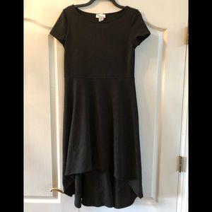 NWOT Allison Brittney Hi/Low Black Dress Size Med